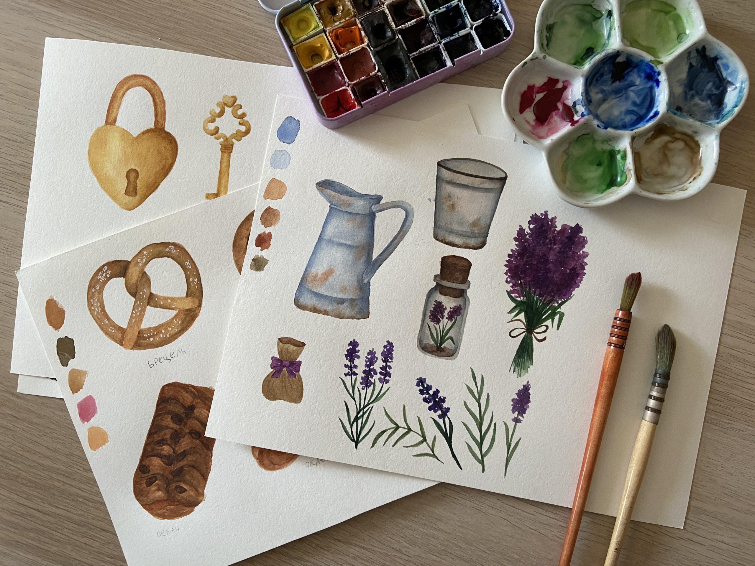 Основы акварельной иллюстрации